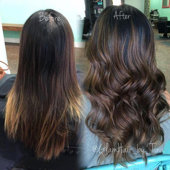 Fun balayage sombre!!! Cut by the lovely @glamiris!  balayage #sombre #chocolatesombre #windowlighting #paintedhair #hairpaint #hairartist #glamhairbytina #hairbytina #glamhairousoriginals #luxsalon209 #luxsalon #stocktonhair #stocktonsalon #stocktonsalons #stocktonstylist #209salon #209salons #imallaboutdahair #hotonbeauty #behindthechair #btcpics #modernsalon #stylistshopconnect #hvrahairartistry
