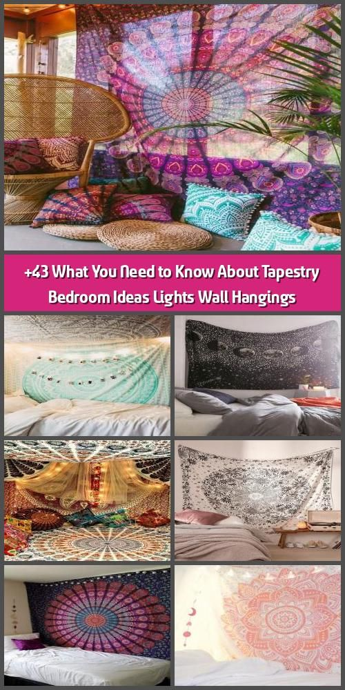 43 What You Need To Know About Tapestry Bedroom Ideas Lights Wall