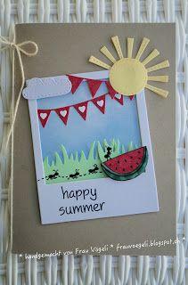 frau vögeli: Happy Summer