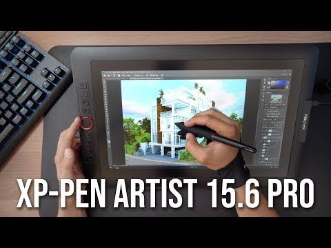 Xp Pen Artist 15 6 Pro Unboxing Review In Autodesk Revit A Screen Drawing Tablet For Architects Youtube Autodesk Revit Drawing Tablet Tablet