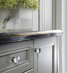 gray cottage kitchen furniture redou0027s pinterest cottage kitchens glass knobs and kitchens