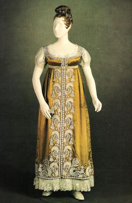 Dress worn by Princess Charlotte Augusta of Wales, 1817 England