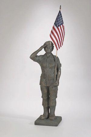 concrete military statue lawn ornaments   Statue - Lawn ...