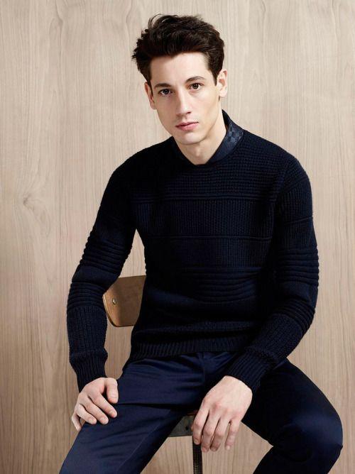 Cerruti 1881 FW15.  menswear mnswr mens style mens fashion fashion style paris suit casual luxury tailoring c
