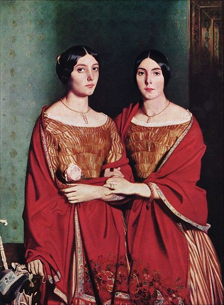 Théodore Chassériau - Les deux soeurs (1843)