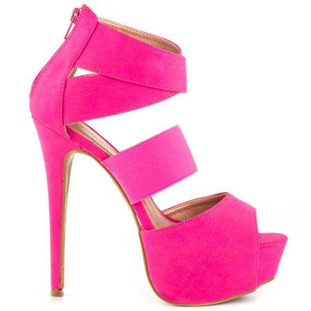 Pink Stiletto Heels | Tsaa Heel