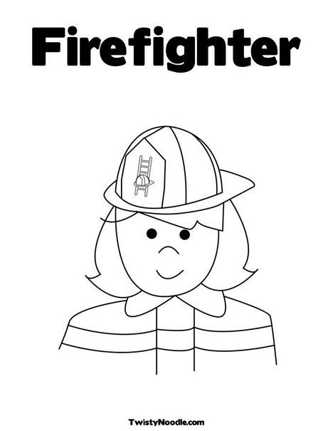busy firefighter coloring pages | Firefighter | Occupations and Community Places | Pinterest ...