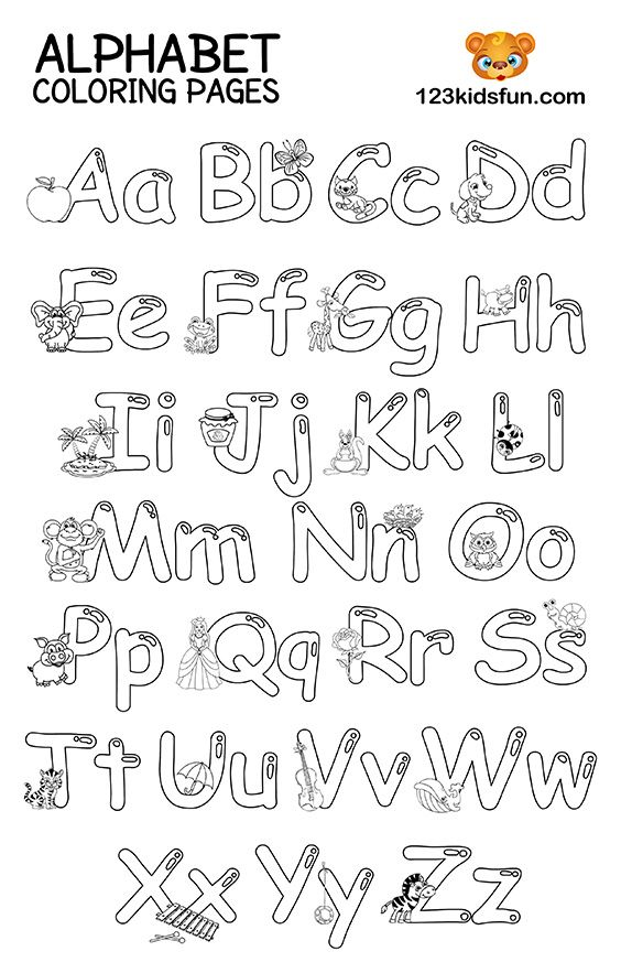 Free Printable Alphabet Coloring Pages For Kids 123 Kids Fun Apps Abc Coloring  Pages, Letter A Coloring Pages, Alphabet Coloring Pages