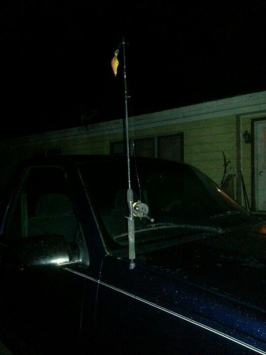 My Fishing Pole Antenna My Work Pinterest Fishing