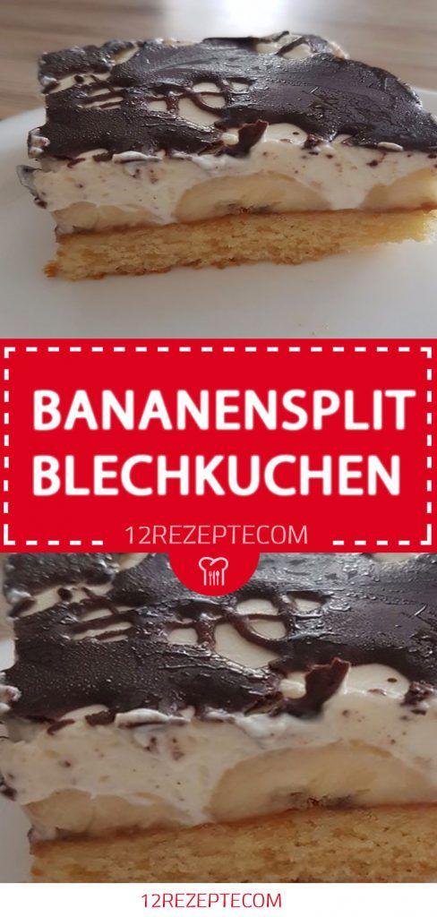 bananensplit blechkuchen