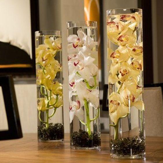 Como decorar un jarr n de cristal grande buscar con - Jarrones de diseno ...
