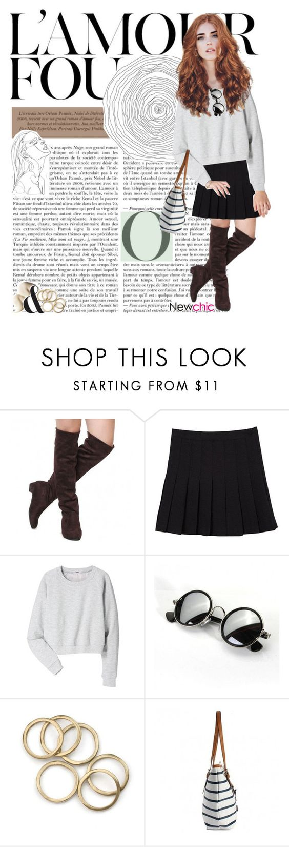 """newchic O2"" by youremyqueen ❤ liked on Polyvore featuring Acne Studios and melsunicorns"