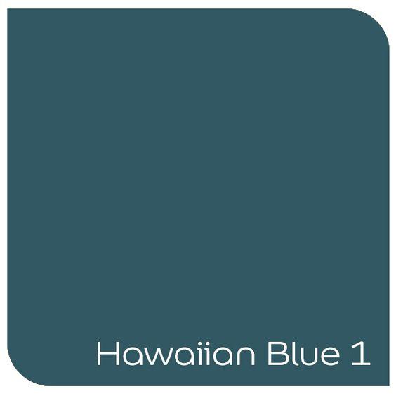 Hawaiian Blue 1 By Dulux Color Pallets Pinterest