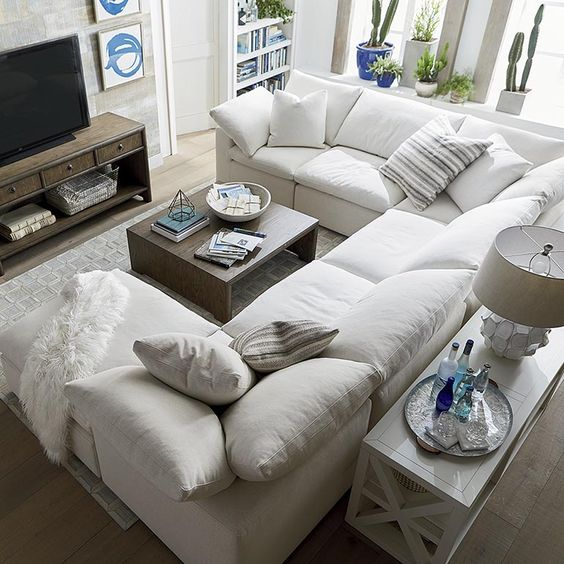 u shaped sofas for small spaces | Envelop Small U Shaped Sectional | Bassett Home Furnishings