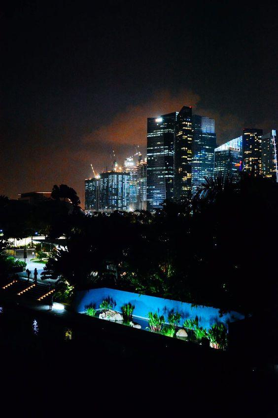 Spaziergang durch den Botanischen Garten in Singapur im Oktober 2015. Das ganze Erlebnis wird es im #sisterMAG23 zu sehen geben. Blick auf die Stadt. Dank Lufthansa #myBCmoment