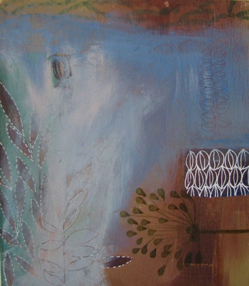 painted garden 2 by tiel seivl-keevers