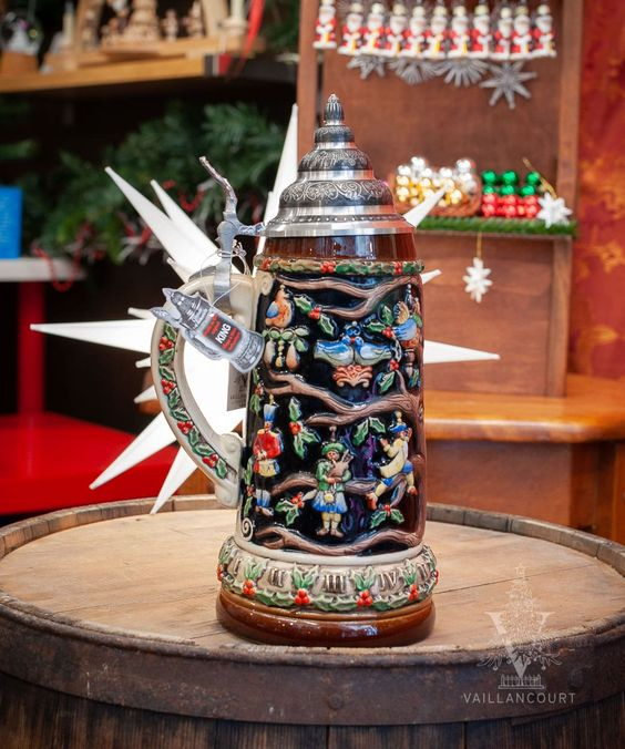 Twelve Days Of Christmas Beer Stein From Vaillancourt In 2020 Christmas Beer Beer Steins Twelve Days Of Christmas