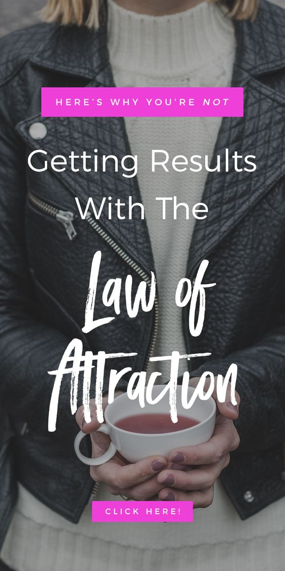 Here's Why You're Not Getting Results With The Law of Attraction | Manifesting Tips + Tricks