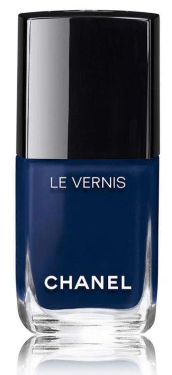 Love this navy nail lacquer