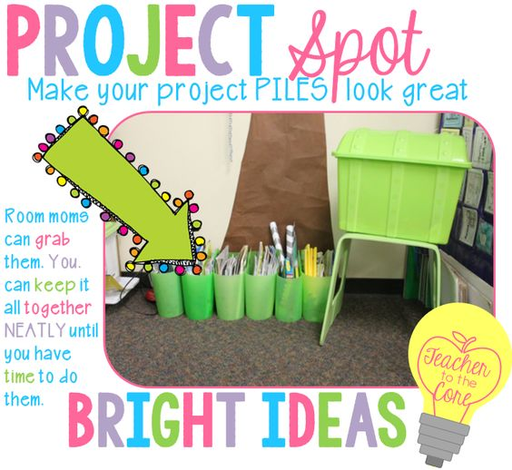Project Spot - Keep project materials organized