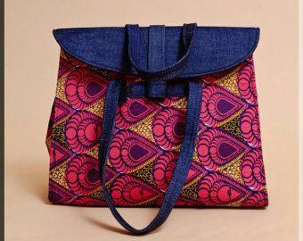 African print ladies bag