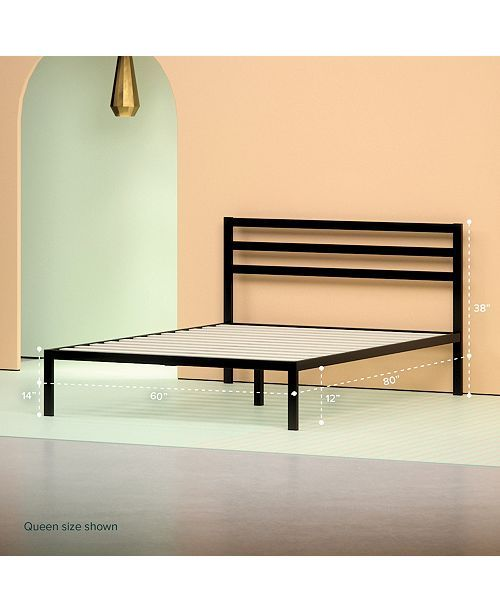 Main Image Metal Platform Bed Bed Frame And Headboard Bed Frame