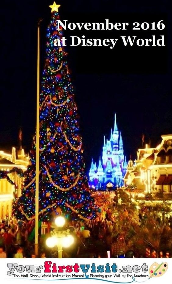 Visiting Disney World in November 2016? Then you'll want to check out this post on what to expect