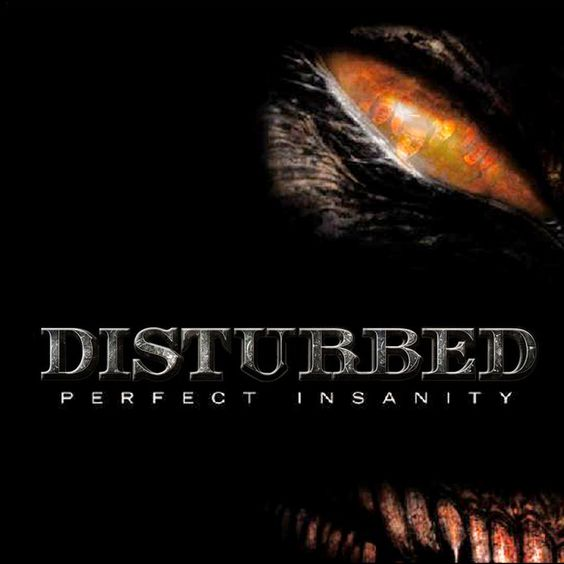 Disturbed – Perfect Insanity (single cover art)