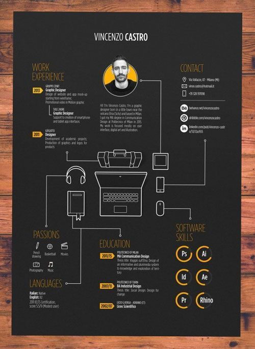If You Like This Cv Template Check Others On My Cv Template Board Thanks For Resume Design Creative Graphic Designer Resume Template Graphic Design Resume