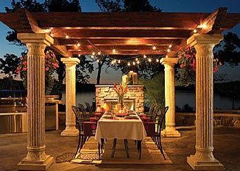 lovely. patio-garden