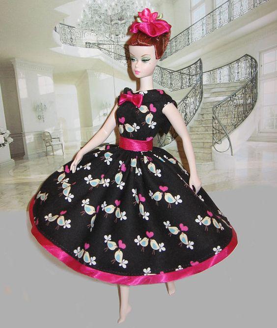 Barbie Silkstone OOAK Vintage Retro style Love Birds by dollsaga: