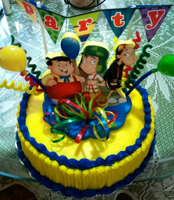 Chavo Del 8 Cake Ideas And Designs: