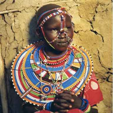 Literacy search and masai jewelry on pinterest for African body decoration