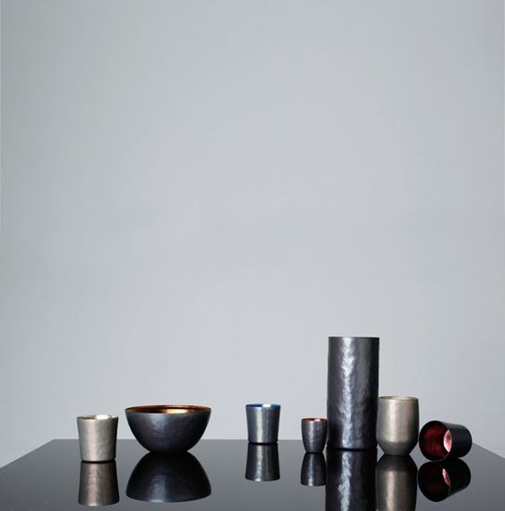 The beauty and colors of the titanium tableware | SUS Gallery