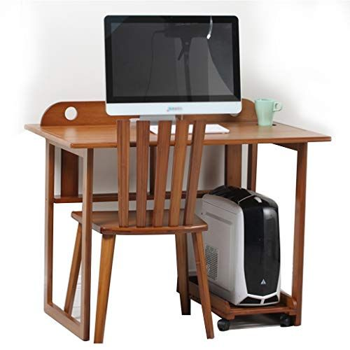 Desk Multi Function Computer And Chair Student Study Table Home Table Bamboo Home Office Color Brown Study Table Study Table And Chair Home Office Colors