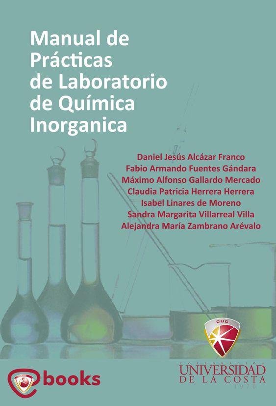 Resultado de imagen de Manual de Prácticas de Laboratorio de Química Inorgánica
