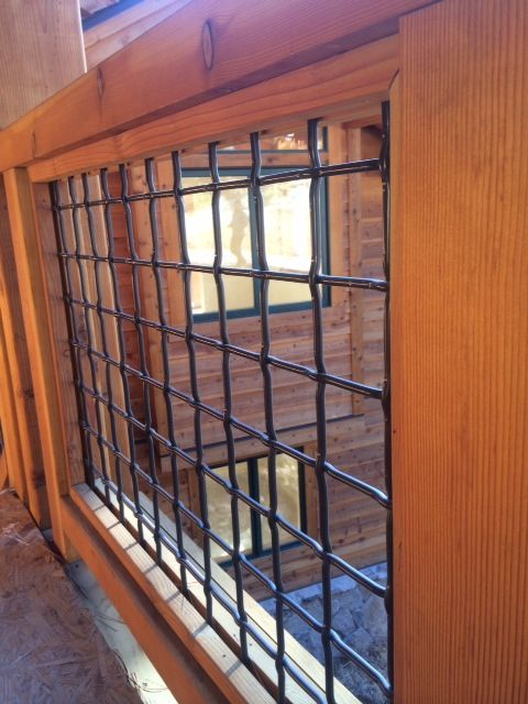 What Is It The Hog Wire Fence Implies That Some Pieces Of Cord Are Prepared With Each Other In Crossing And The Deck Railing Diy Deck Railing Design Diy Deck