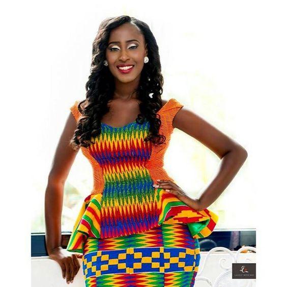 I Do Ghana   Congrats to Priscilla   Photography by LaceUp Weddings   Kente Bride   Kente Wedding: