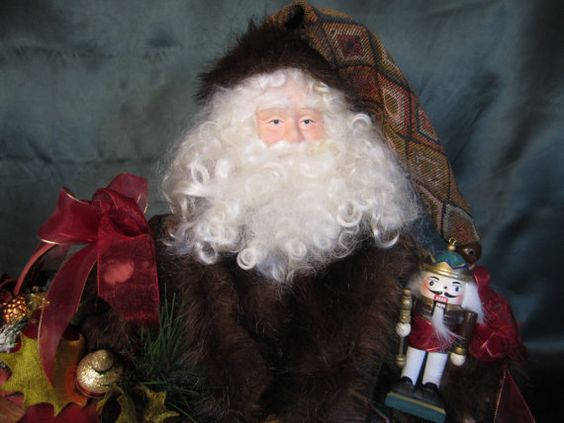 Handmade Welcome Home Santa  5012 by ToysandPresence on Etsy, $115.00