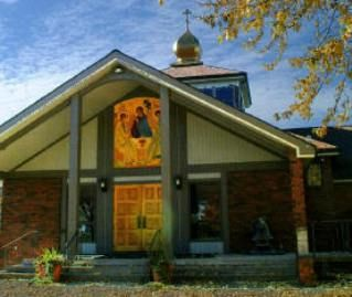 Holy Trinity Orthodox Church in Elmira Heights, NY.