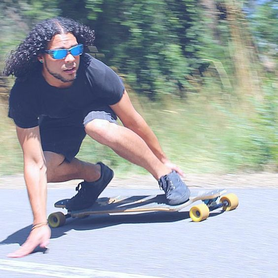 Grab your #longboard & your #fitovers, it's time to ride!