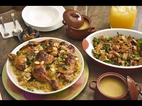 فطور رمضاني بسيط وشهي مع تحضير طبقين تابعوني رمضان كريم Youtube Food Meat Beef
