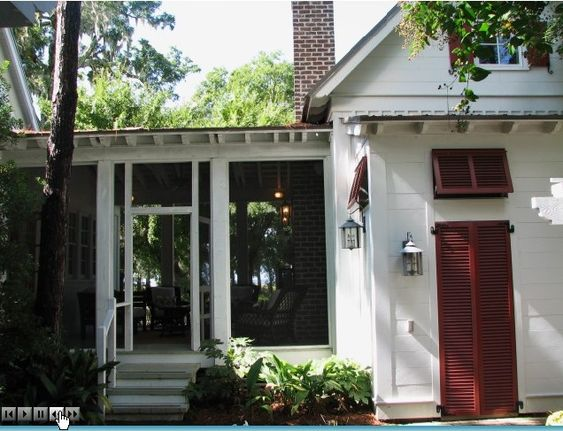 Moser design cottage of the year breezeway southern for House plans with breezeway to guest house
