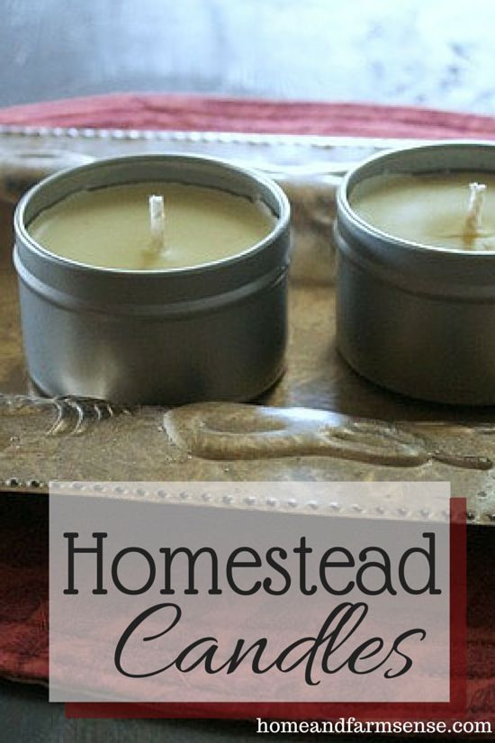 Making candles for your homestead is easy and eco-friendly.  Check out this guest post to see how they are made on our farm...
