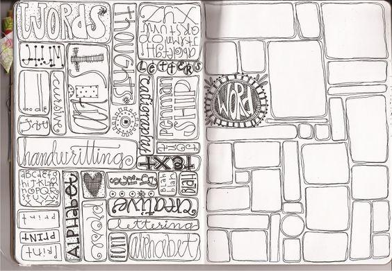Sketchbooks sketchbook ideas and random things on pinterest for Random sketch ideas