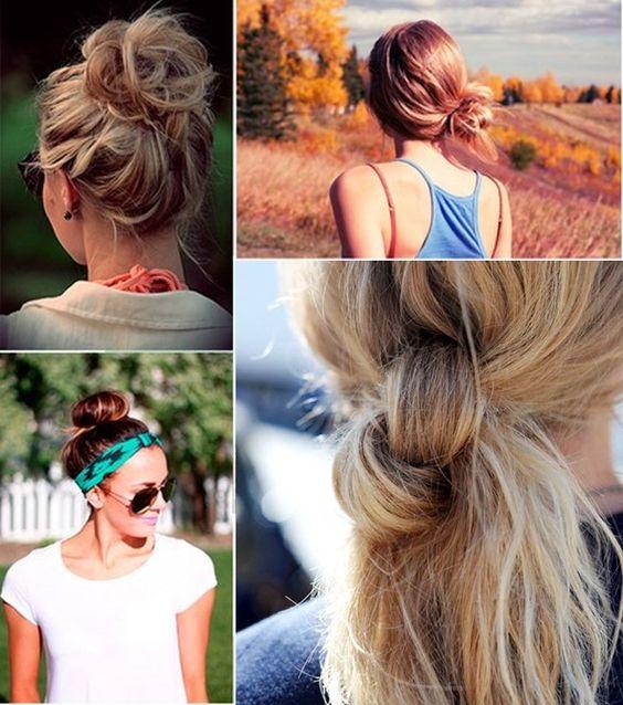 penteados para usar na praia