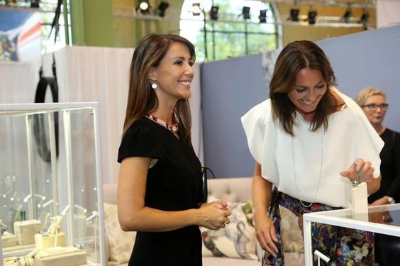 Princess Marie attended the Copenhagen Jewellery & Watch Show August 24, 2014