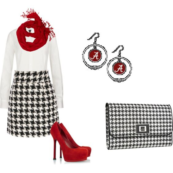 """Alabama Game day :)"" by harrisonpruett1 on Polyvore"