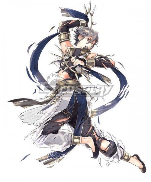 Details about  /Game Fire Emblem Heroes Indigo Dancer Cosplay Costume