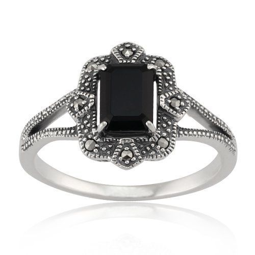 Gemondo Sterling Silver Art Deco 1.20ct Black Spinel & Marcasite Ring, http://www.amazon.co.uk/dp/B00DVIQJN0/ref=cm_sw_r_pi_awdl_j9B-vb0QGBX25